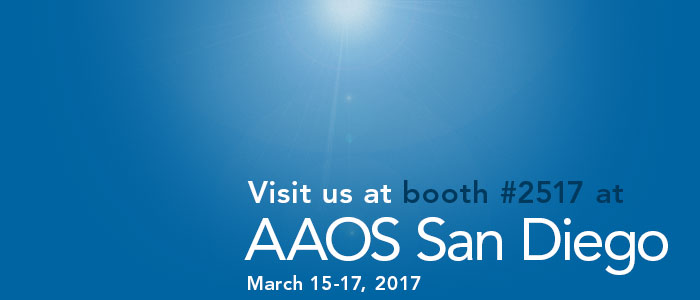 AAOS 2017 in San Diego